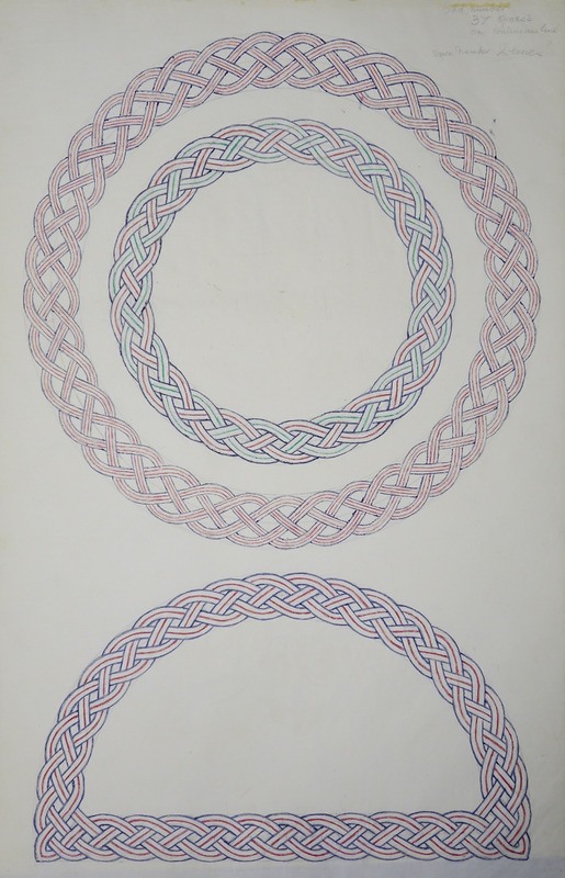 George Bain Drawing - 37 spaces.