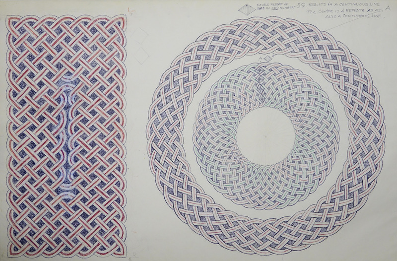 George Bain Drawing - Continuous Lines.