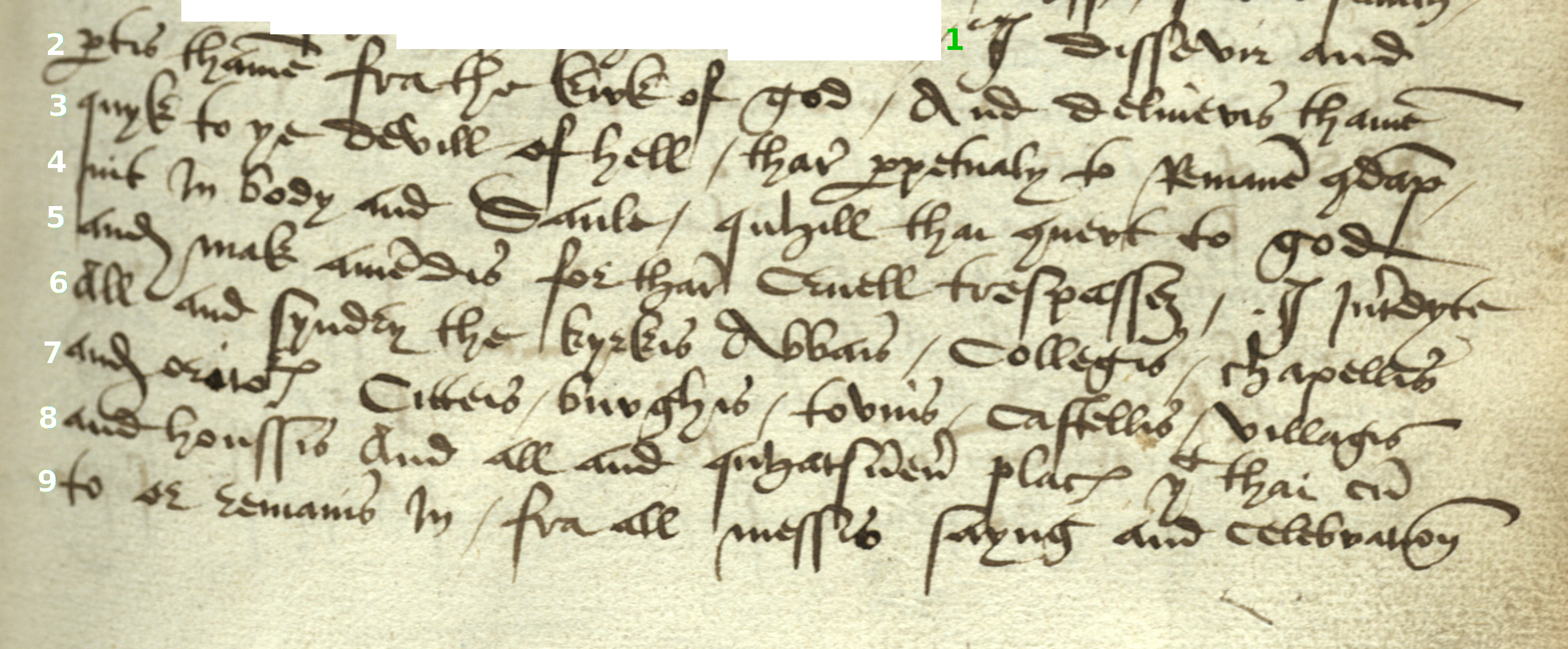 Week 5 16th century documentary hand read me a self correcting msbx1945l211g biocorpaavc Gallery