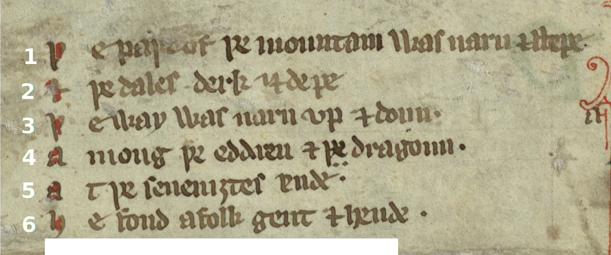 Week 1 pre 15th century book hand read me a self correcting you can find these symbols on the symbols menu in word or simply copy and paste them into your transcription biocorpaavc Gallery